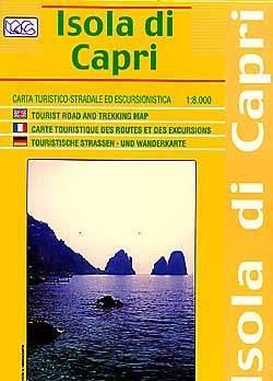 Capri szigete térkép - LAC
