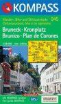 Brunico, Plan de Corones turistatérkép (WK 045) - Kompass