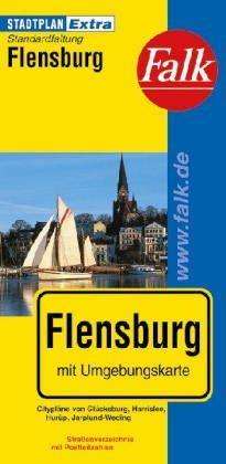 Flensburg Extra várostérkép - Falk