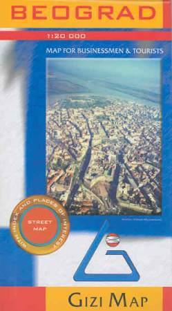 Belgrád várostérkép - Gizimap