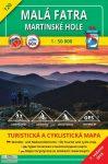 Kis-Fátra, Martinské hole turistatérkép (120) - VKÚ