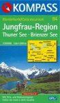 WK 84 Jungfrau-Region: Thuner und Brienzer See - KOMPASS