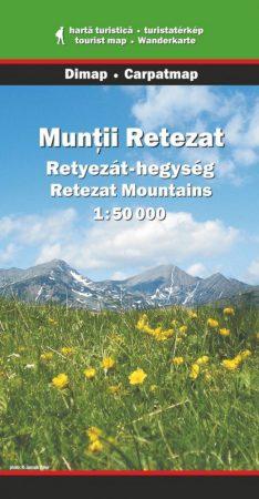 Retyezát-hegység turistatérkép - Dimap & Carpatmap