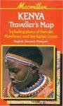 Kenya térkép - Macmillan