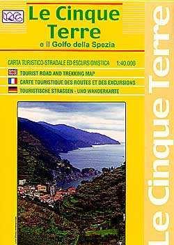 Cinque Terre / Golfo della Spezia autótérkép - LAC