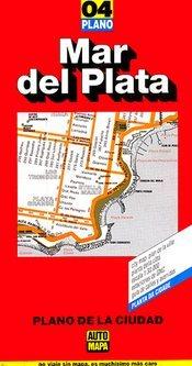 Mar del Plata autótérkép - Automapa