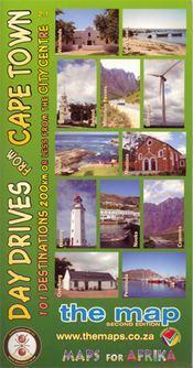 Day Drives from Cape Town térkép - Baardskeerder
