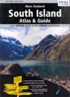 Új-Zéland: South Island Touring Atlas & Guide - Hema