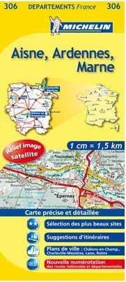 Aisne, Ardennes, Marne (306) - Michelin