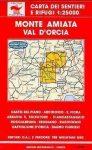 Monte Amiata - Val d'Orcia térkép (No 40/41) - Multigraphic