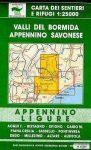 Valli del Bormida - Appennino Savonese térkép (No1/2) - Multigraphic
