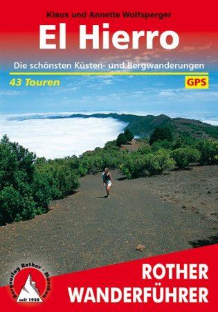 El Hierro, német nyelvű túrakalauz - Rother