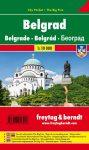 Belgrád várostérkép - Freytag-Berndt