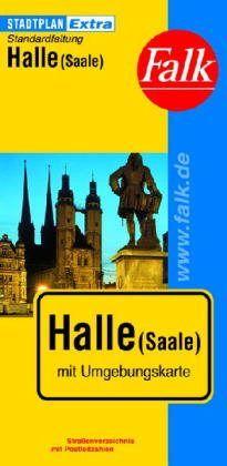 Halle (Saale) Extra várostérkép - Falk