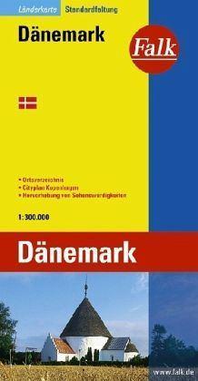 Dánia autótérkép - Falk