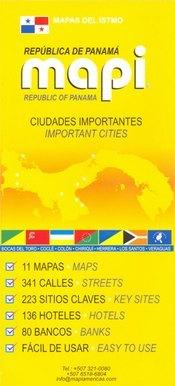 Panama városai atlasz - Mapi Americas