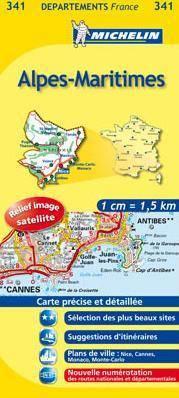 Alpes-Maritimes (341) - Michelin