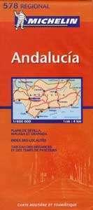 Andalúzia - Michelin 578