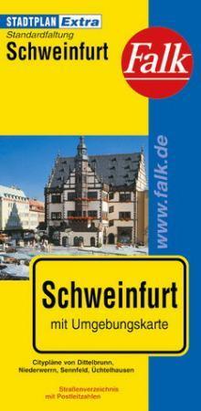 Schweinfurt Extra várostérkép - Falk