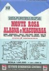 Monte Rosa - Alagna - Macugnaga térkép (No 10) - IGC