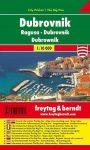 Dubrovnik zsebtérkép - Freytag-Berndt