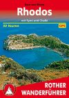 Rhodes, hiking guide in German - Rother