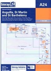 Anguilla, St Martin és St Barthélémy, Chart A24 - Imray