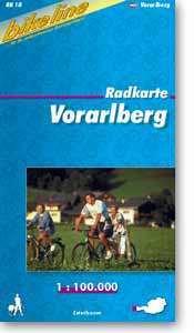 Vorarlberg kerékpártérkép - (RK-A 10)