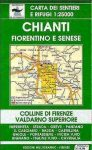 Monti del Chianti térkép (No 42-43) - Multigraphic