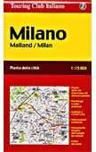 Milano térkép - TCI