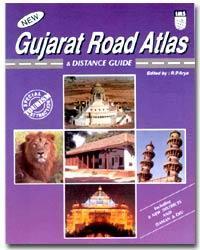 Gujarat autóatlasz - Indian Map Service