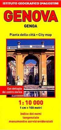 Genova térkép - De Agostini