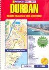 Durban & the Towns of Kwa-Zulu Natal atlasz - Map Studio