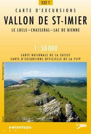 Vallon de St. Imier - Landestopographie T 232