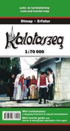 Kalotaszeg turistatérkép - Dimap & Erfatur
