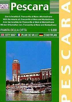 Pescara térkép - LAC