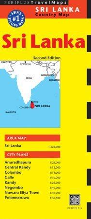 Sri Lanka térkép - Periplus