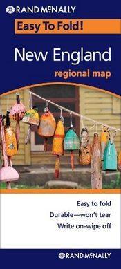 New England (EasyToFold) térkép - Rand McNally