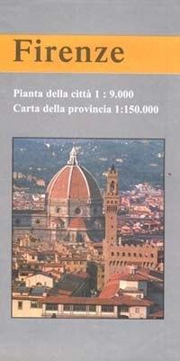 Firenze és környéke térkép - LAC