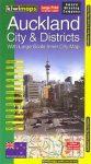 Auckland és környéke térkép - Kiwimaps