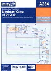 Northeast Coast of St Croix Chart A234 - Imray