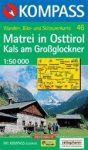 Matrei in Osttirol, Kals am Großglockner turistatérkép (WK 46) - Kompass