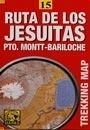 Ruta de los Jesuitas: Puerto Montt - Bariloche térkép - JLM Mapas
