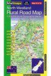 North Westland térkép - Kiwimaps