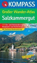 Salzkammergut Großer Wander-Atlas - Kompass K 597