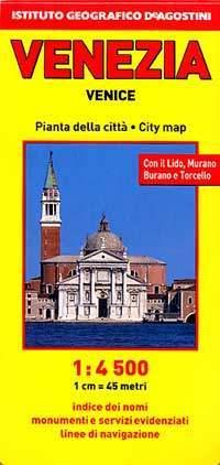 Velence térkép - De Agostini