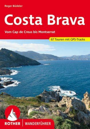 Costa Brava, német nyelvű túrakalauz - Rother