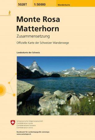 Monte Rosa / Matterhorn - Landestopographie 5028T