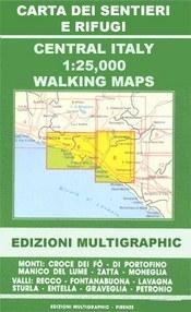 Valle di Roja - M. Toraggio - M. Grammondo térkép (No 113-114) - Multigraphic