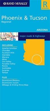 Phoenix & Tuscon, AZ térkép - Rand McNally